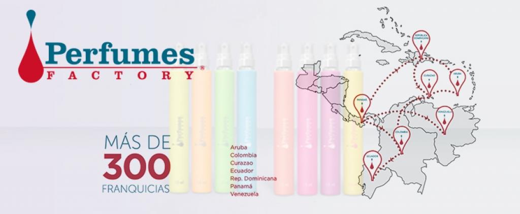 Perfumes Factory se expande en Colombia a través de franquicias